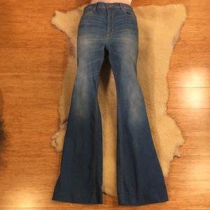Missimo Denim High Rise Flare Jeans